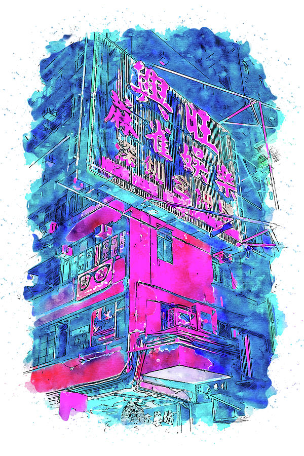 Tokyo Nights - 28 by AM FineArtPrints