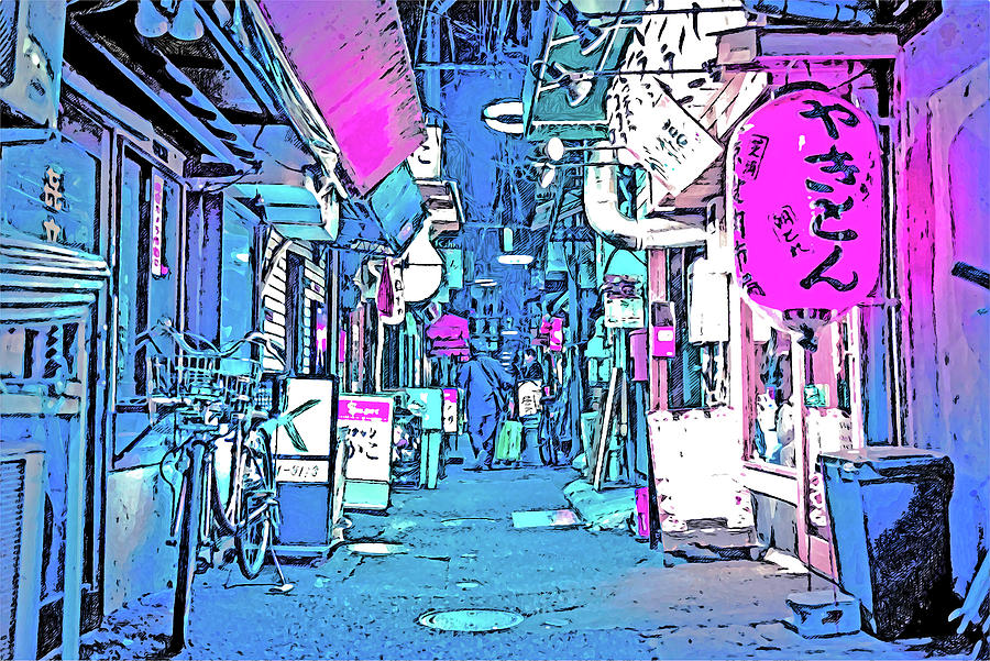 Tokyo Nights - 31 by AM FineArtPrints