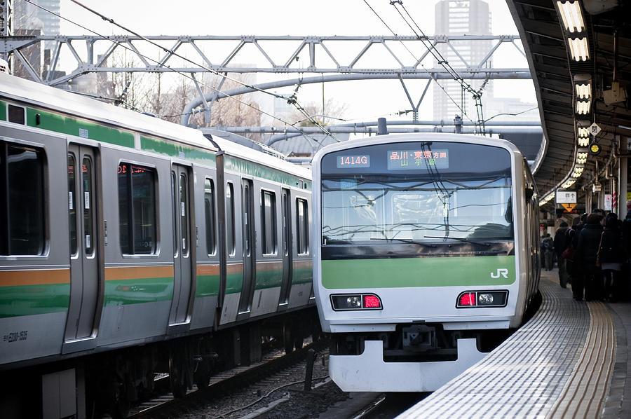 Tokyo subway station Photograph by Tsuji
