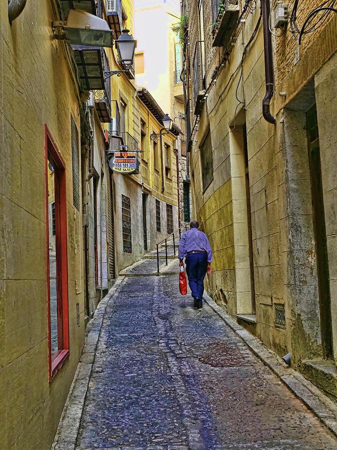 Toledo Spain Street # 6 Photograph