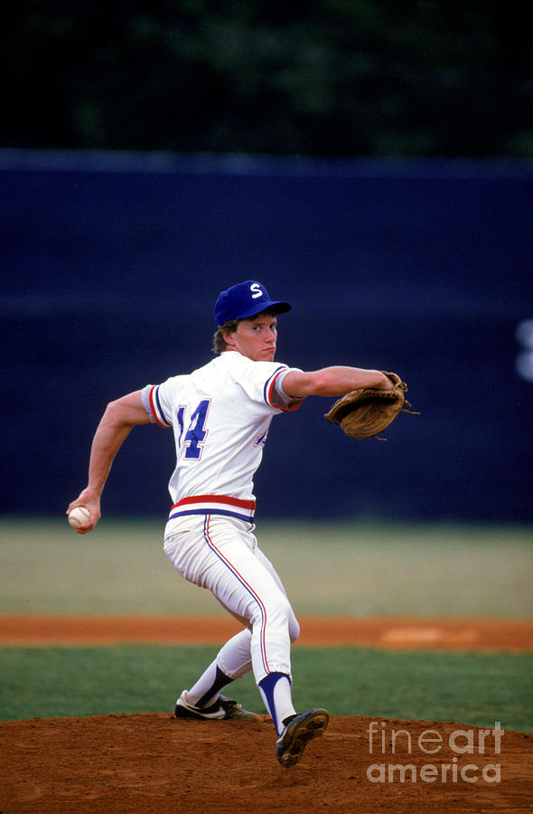 Tom Glavine Photograph by Rich Pilling