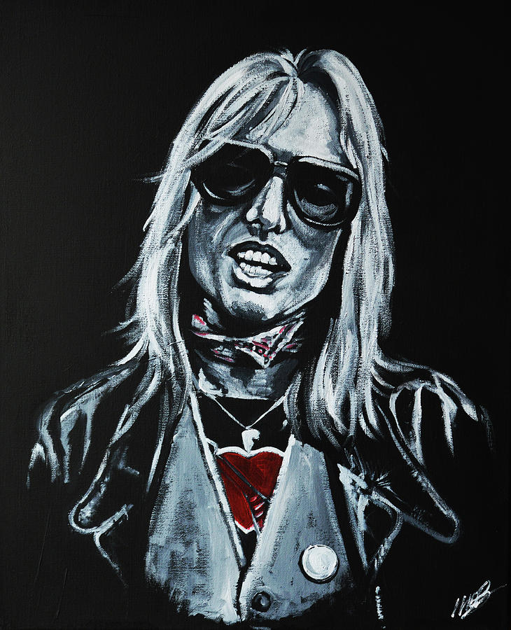 Tom Petty Painting - Tom Petty by Melissa OBrien