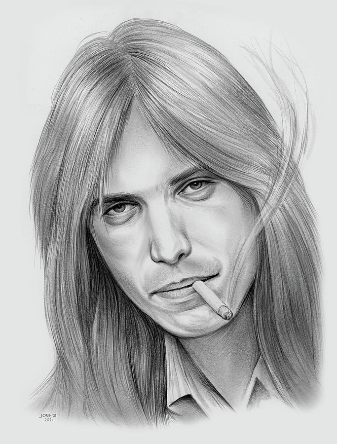 Tom Petty - Pencil Drawing