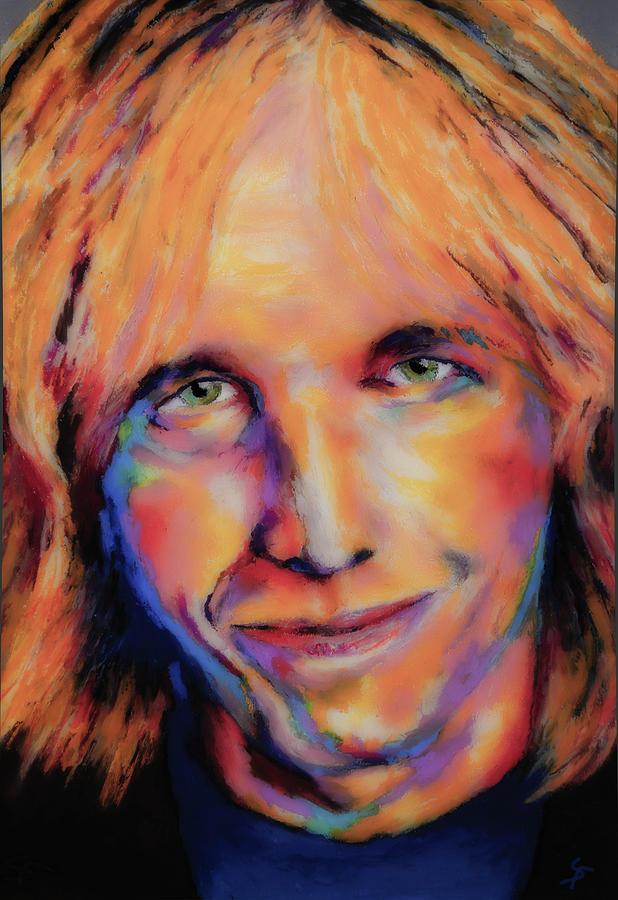Tom Petty Painting