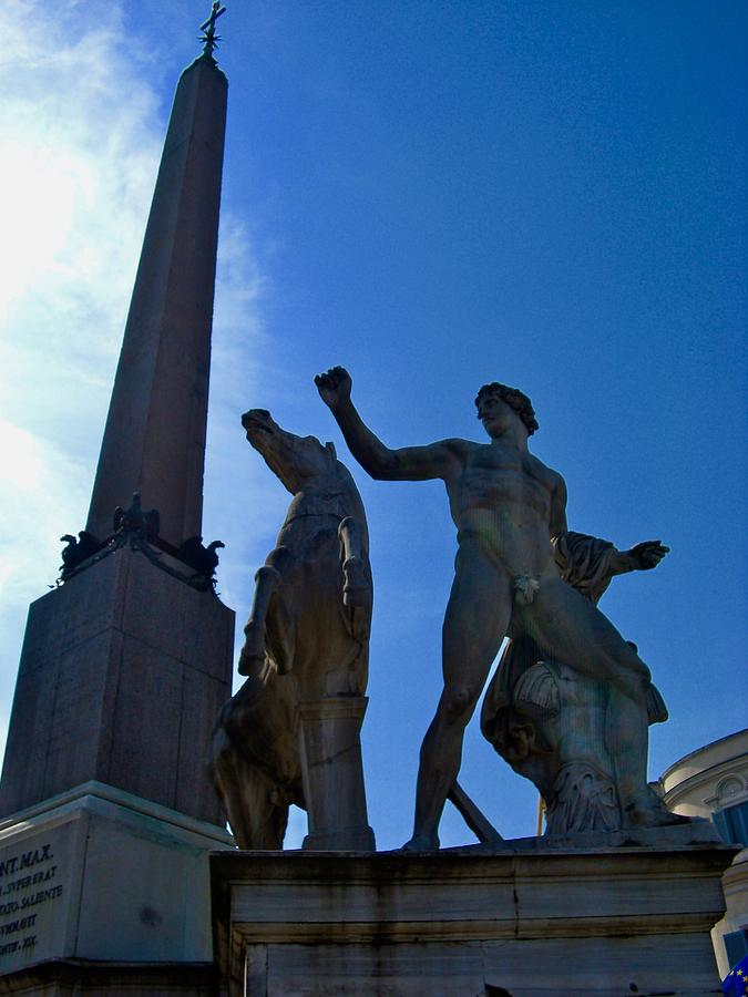Tomb Of Emperor Augustus Photograph