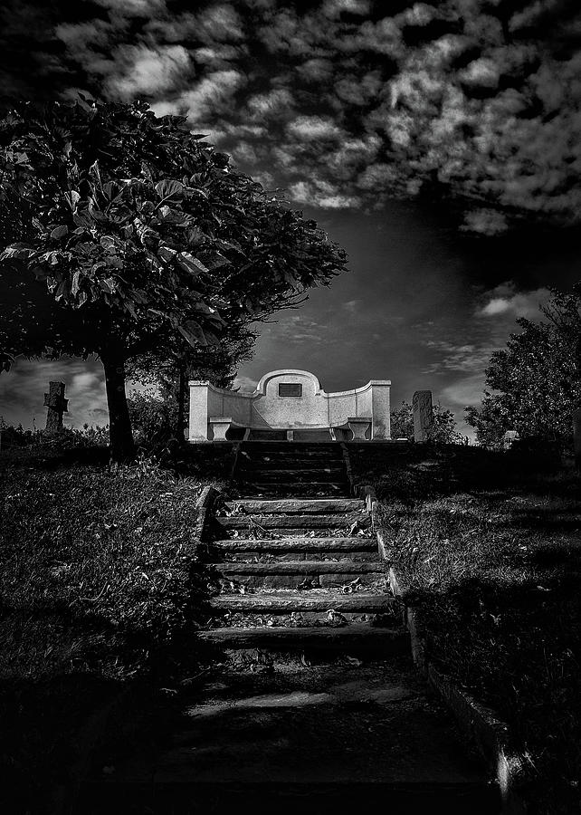 Tombstone Shadow No 9 by Brian Carson