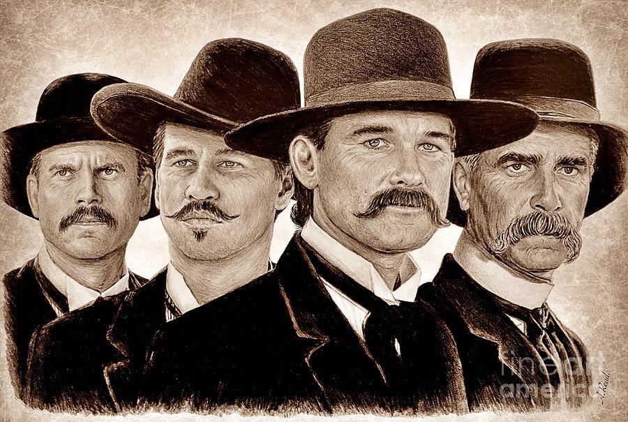 Tombstone Ye Ole Wild West Edit Drawing