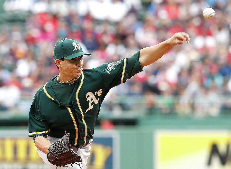 Tommy Milone Photograph by Jim Rogash