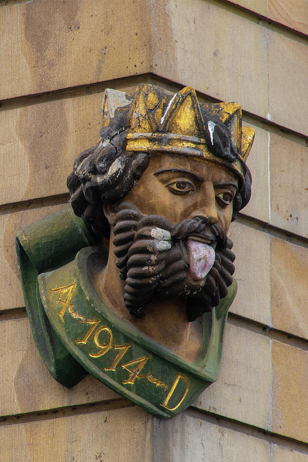 King Photograph - Tongue Kind of Basel Switzerland by Laura Smith