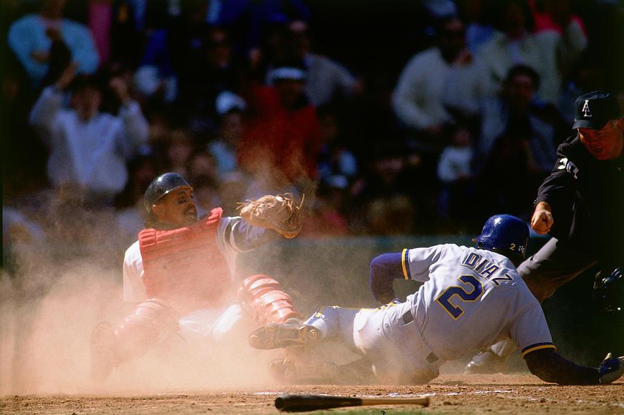Tony Pena Photograph by Ronald C. Modra/sports Imagery