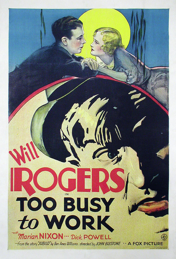 too Busy To Work, 1932 Mixed Media