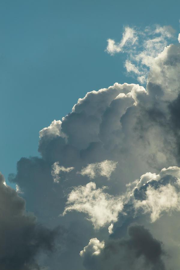 Top-lit Cumulus Layers Photograph
