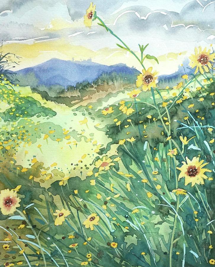 Topanga Spring Painting