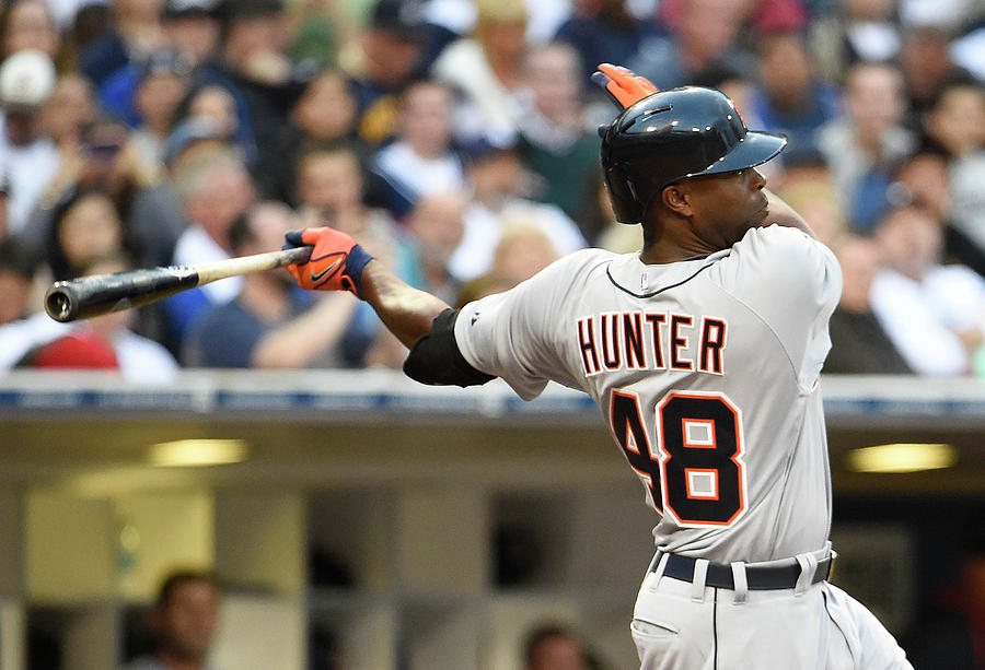 Torii Hunter Photograph by Denis Poroy