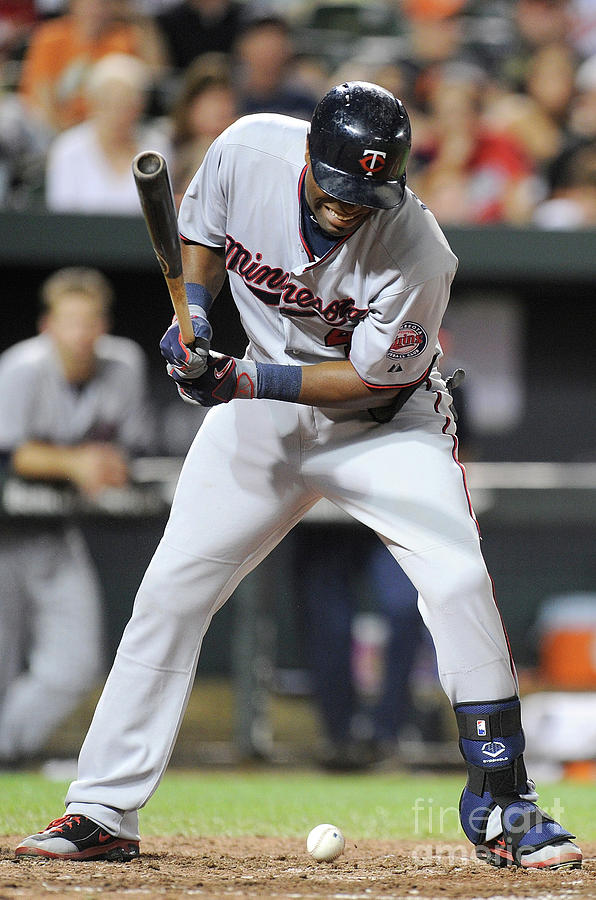 Torii Hunter Photograph by Greg Fiume