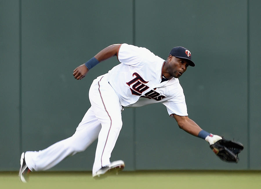 Torii Hunter Photograph by Hannah Foslien