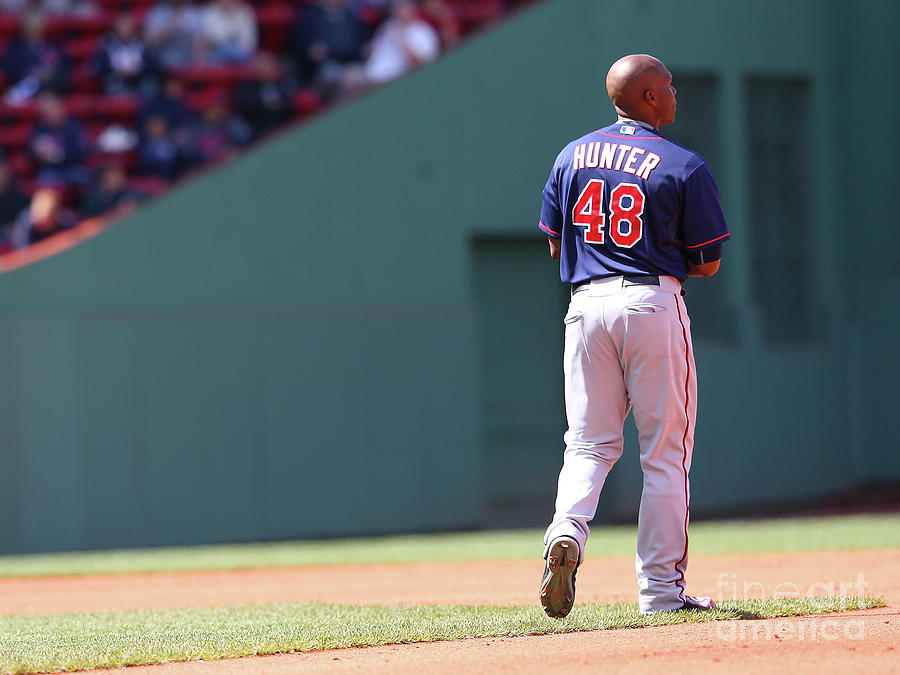 Torii Hunter Photograph by Jim Rogash