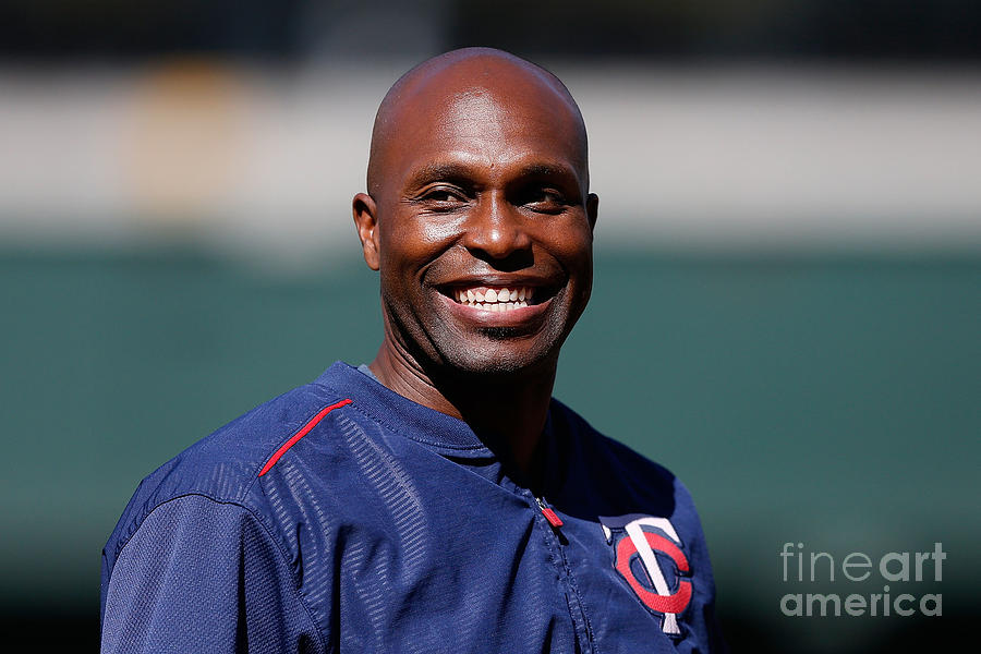 Torii Hunter Photograph by Lachlan Cunningham