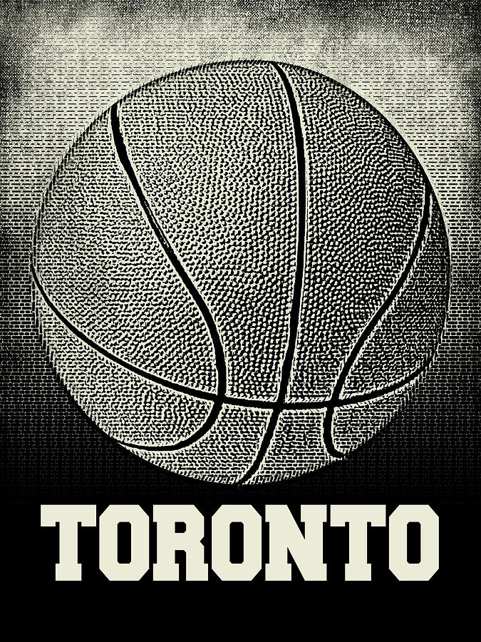 Toronto Basketball - Sports by Flo Karp
