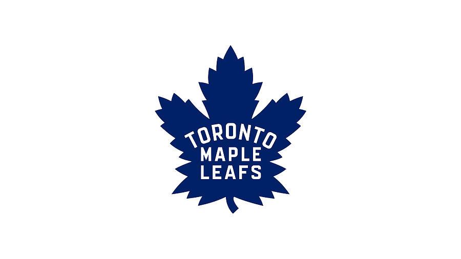 Toronto Maple Leafs Official Logo Nhl National Hockey League Hockey Club Team Digital Art By Music N Film Prints