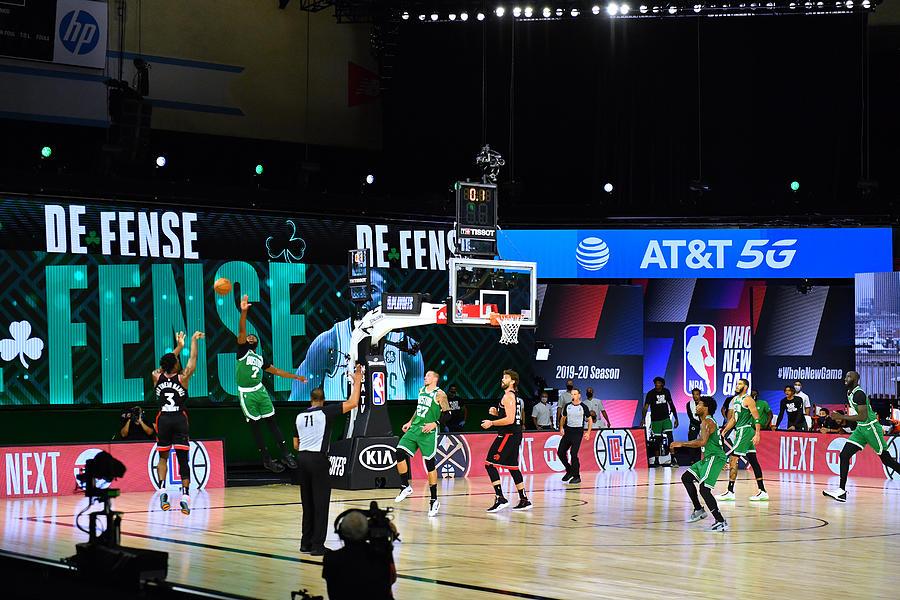 Toronto Raptors v Boston Celtics - Game Three Photograph by Jesse D. Garrabrant