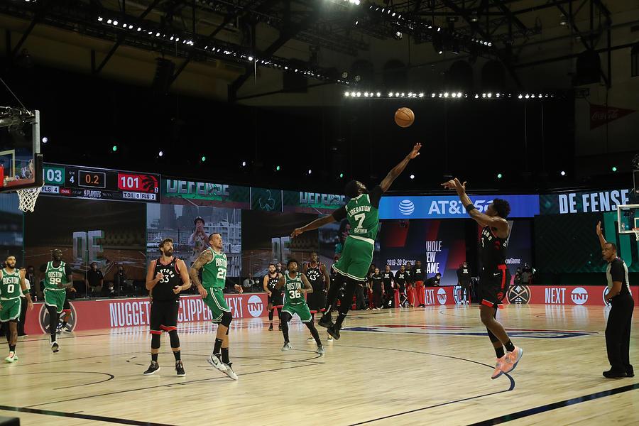 Toronto Raptors v Boston Celtics - Game Three Photograph by Nathaniel S. Butler