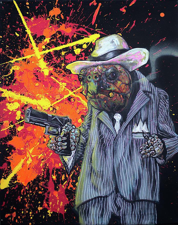 Tortuga Painting - Tortuga by Jacob Wayne Bryner