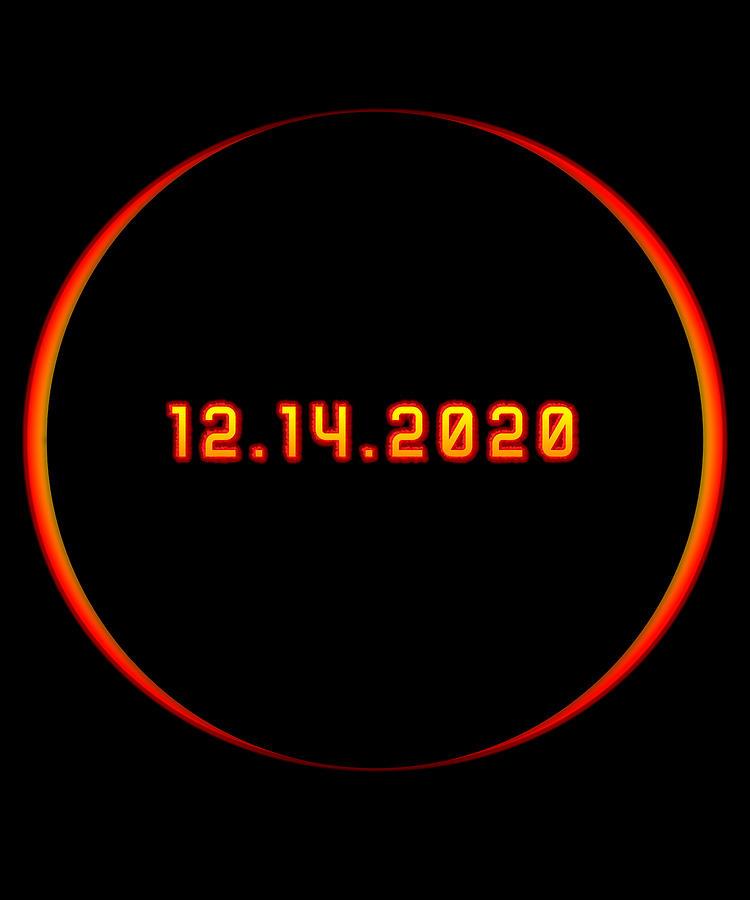 Argentina Digital Art - Total Solar Eclipse Winter December 14 2020 by Flippin Sweet Gear