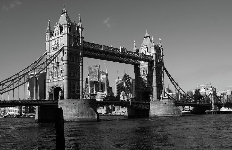 Tower Bridge on the River Thames, London, England by Aidan Moran