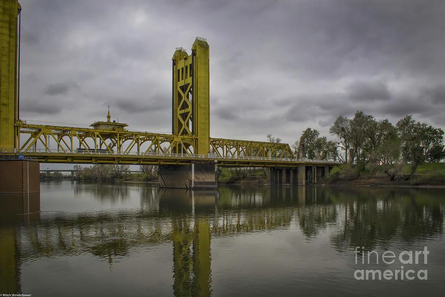 Tower Bridge Sacramento River Photograph