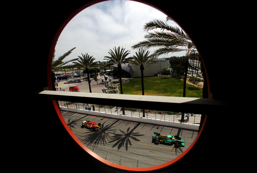 Toyota Grand Prix of Long Beach - Day 3 Photograph by Donald Miralle