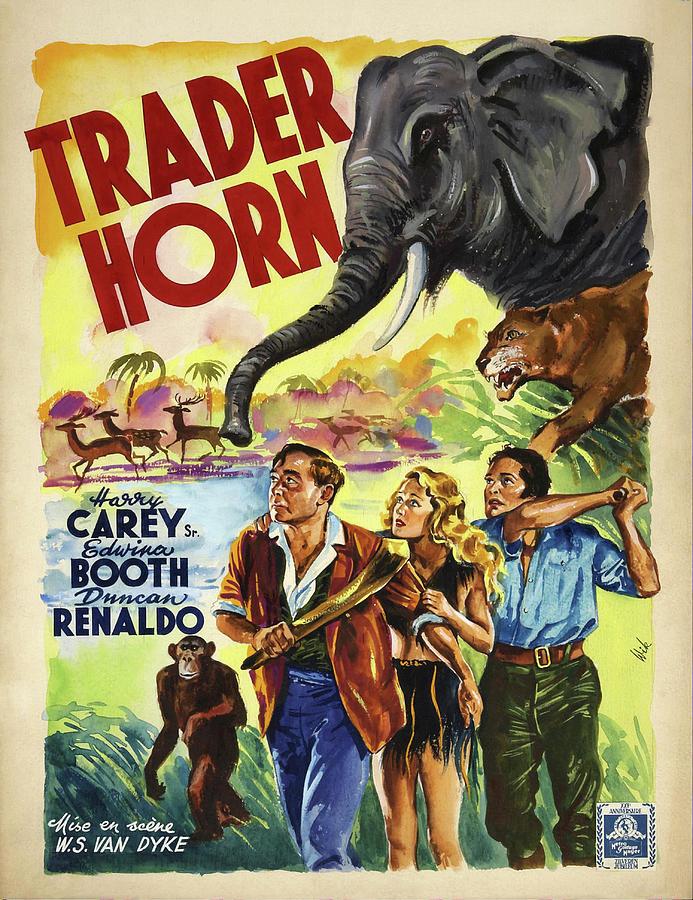 trader Horn, 1931 Mixed Media