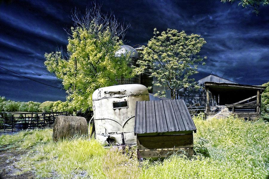 Trailer On The Farm Photograph