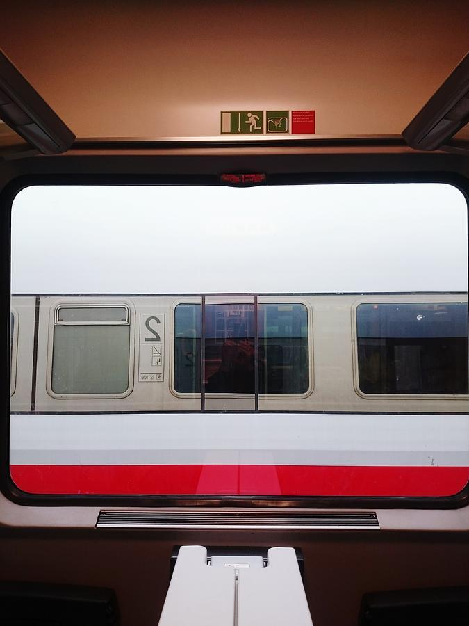 Train Seen From Window Photograph by Roman Pretot / EyeEm
