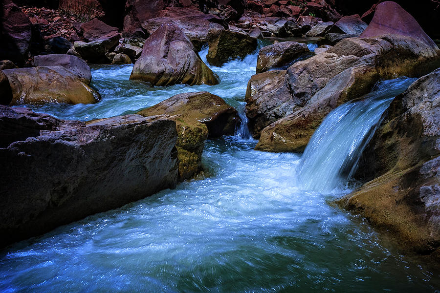 Virgin River Photograph - Tranquil Waters-3725 by Jack and Darnell Est