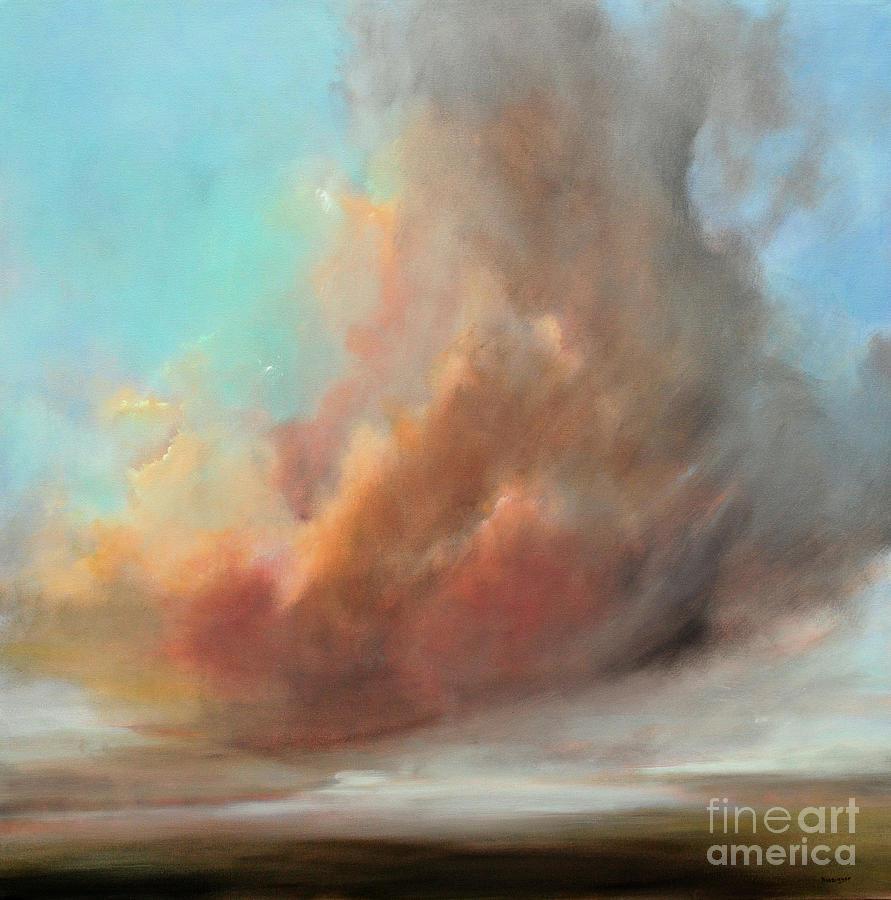 Transcend Painting - Transcend by Paint Box Studio