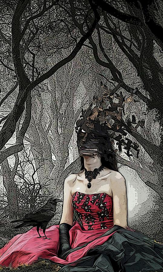 Vintage Mixed Media - Transformation by Arianna Siegel