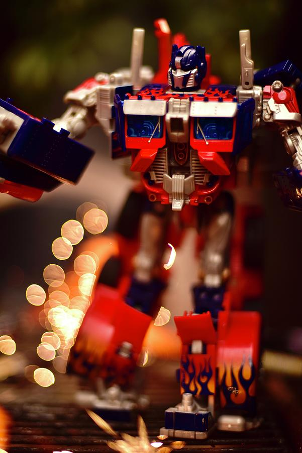 Transformers Optimus Prime Photograph