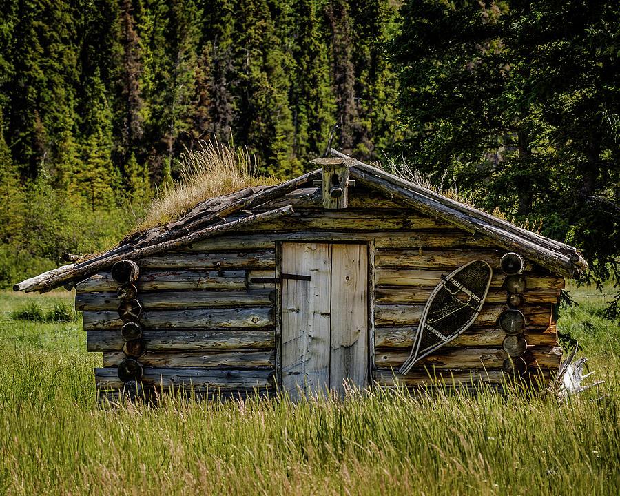 Trapper's Cabin by William Christiansen