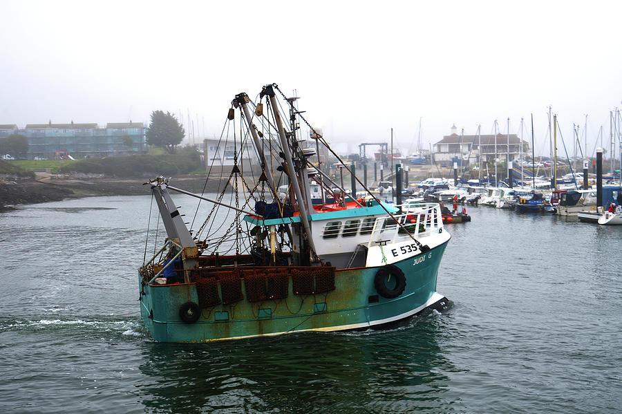 Trawler Judi G Photograph