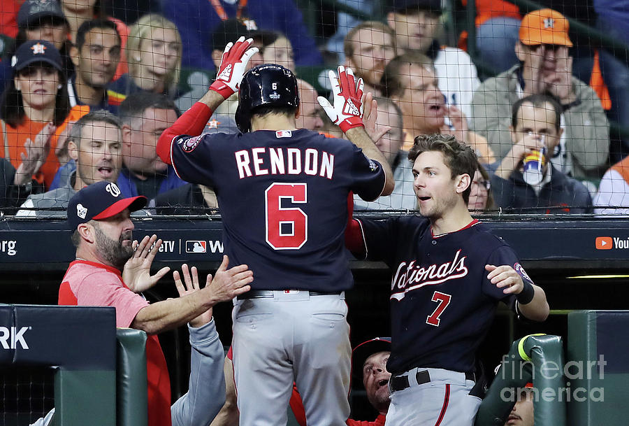 Trea Turner And Anthony Rendon Photograph by Elsa