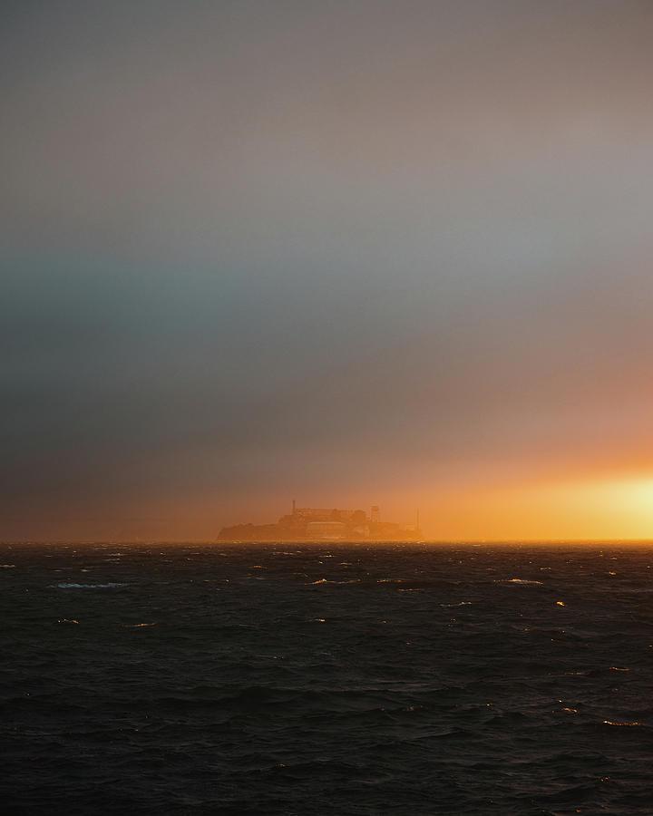 San Francisco Photograph - Treasure Island Sunset by Julius Thomas
