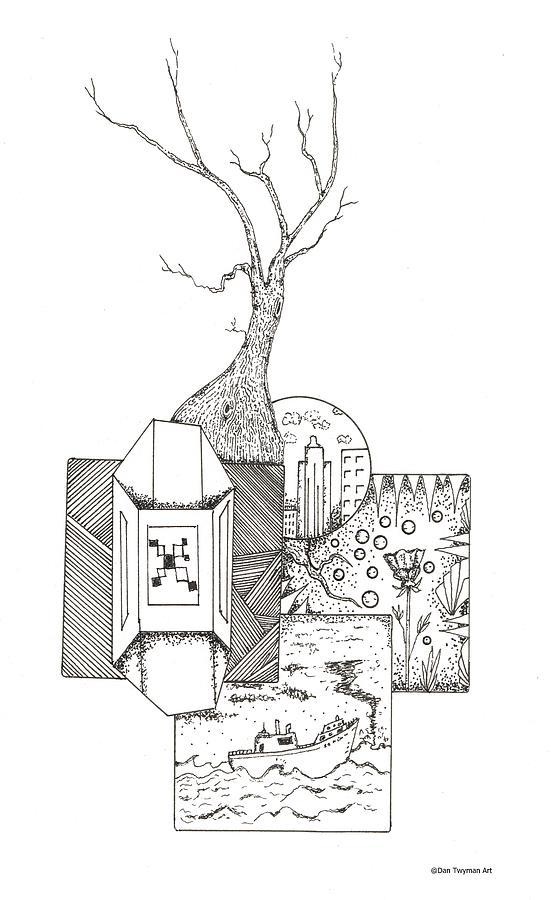 Tree Of Windows Drawing