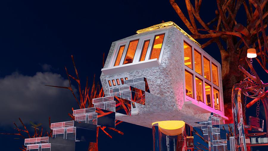 Treehouse B2 Digital Art
