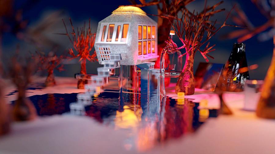 Treehouse B6 Digital Art