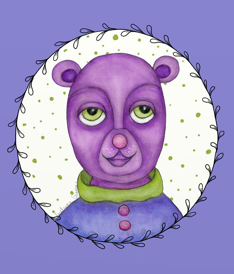 Trendy Bear by Barbara Orenya
