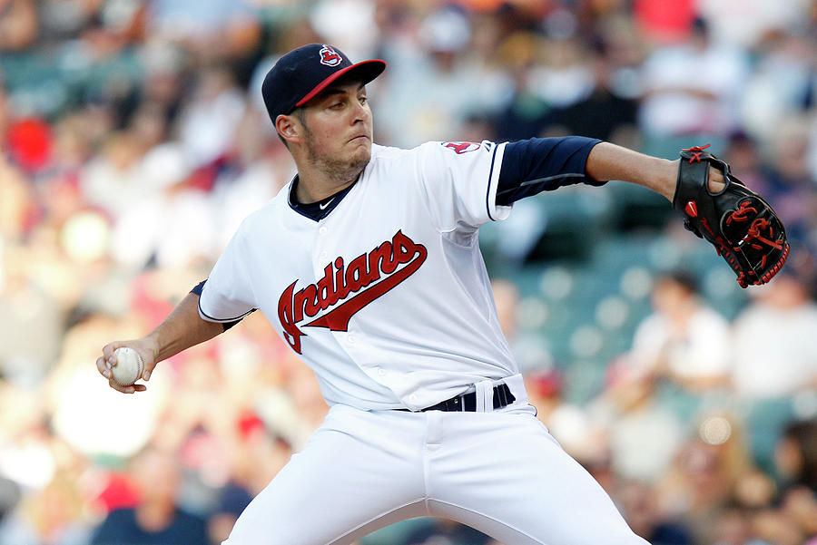 Trevor Bauer Photograph by David Maxwell