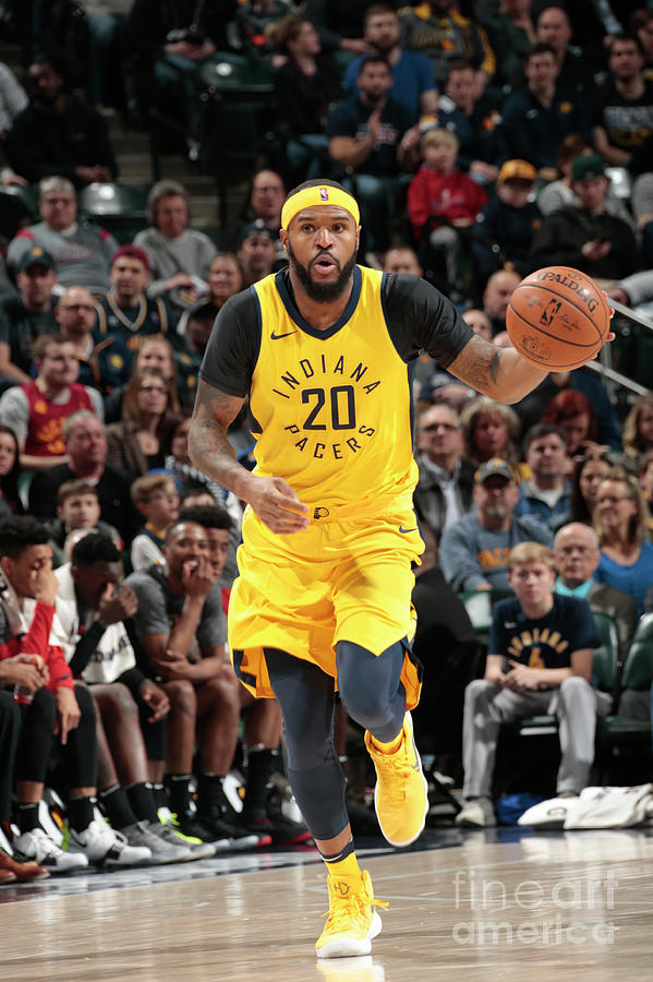 Trevor Booker Photograph by Ron Hoskins