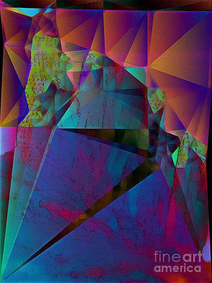 Triangular Rainbow Shattered by Dee Flouton