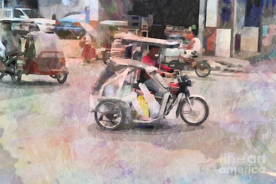 Tricycle Digital Art